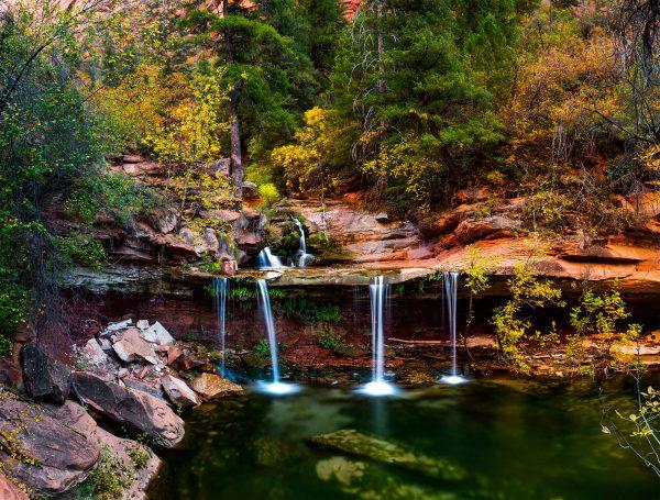 Double Falls, Zion National Park