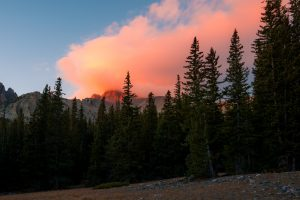 Wheeler Peak on Fire