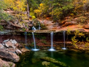 Double Falls, Zion National Park