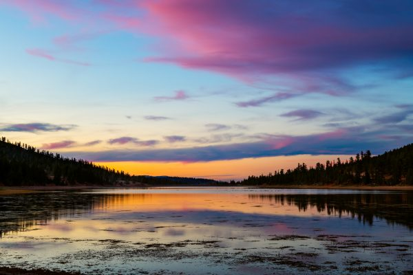 Tropic Reservoir Sunset